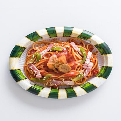 昔ながらのナポリタンスパゲティ